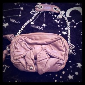 Juicy Couture lilac crossbody with a bow